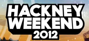 Radio 1 Hackney Weekend 2012 Festival Logo