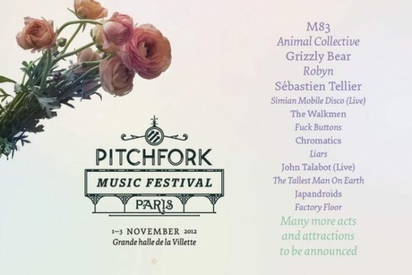 Pitchfork Paris lineup adds some more bands.