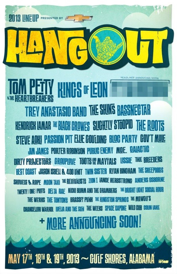 Tom Petty and Kings of Leon to Headline Hangout Fest 2013