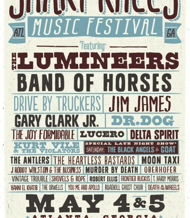 Shaky Knees Poster 2013