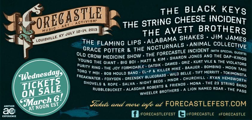 Forecastle Festival Launches 2013 Lineup