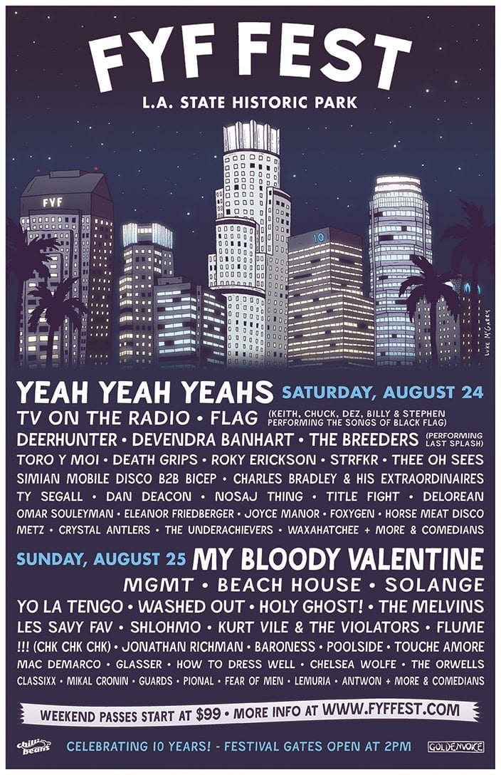 2013 Lineup for FYF Fest is Here!