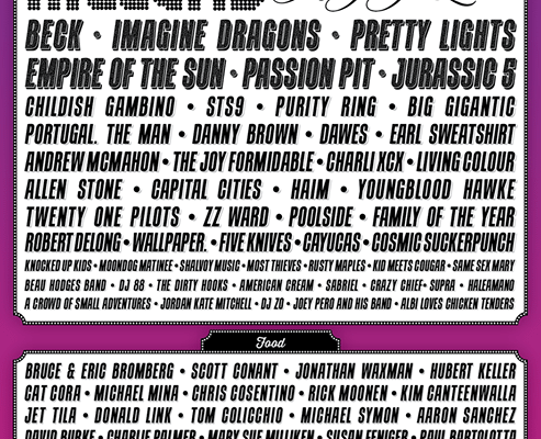 Life is Beautiful 2013 Lineup