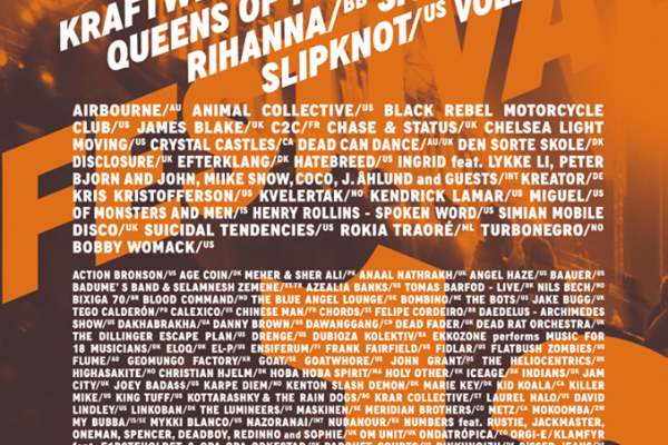 Roskilde Lineup Festival 2013 Final