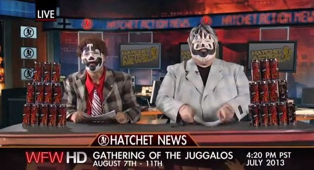 Behold The Completely Awesome 2013 Infomercial for The Gathering of the Juggalos