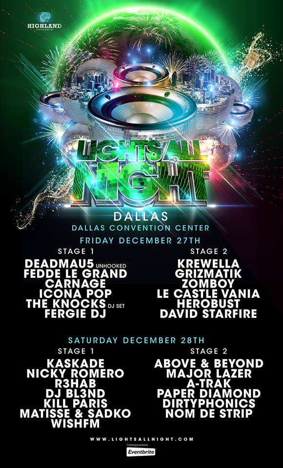 Deadmau5, Major Lazer, and Kaskade: Full Lineup for Lights ...