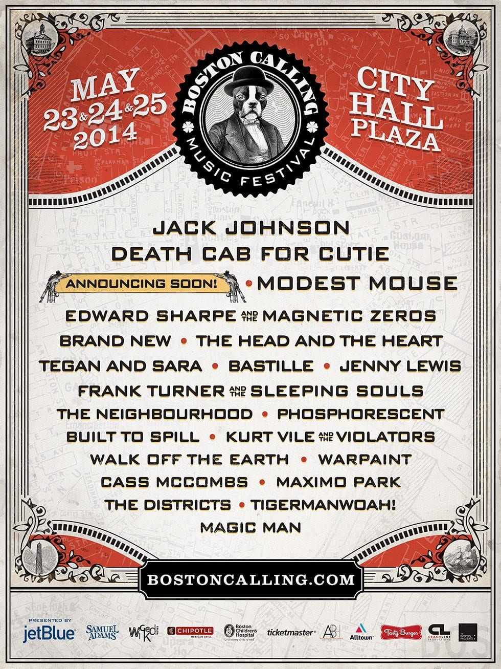 Boston Calling the Third