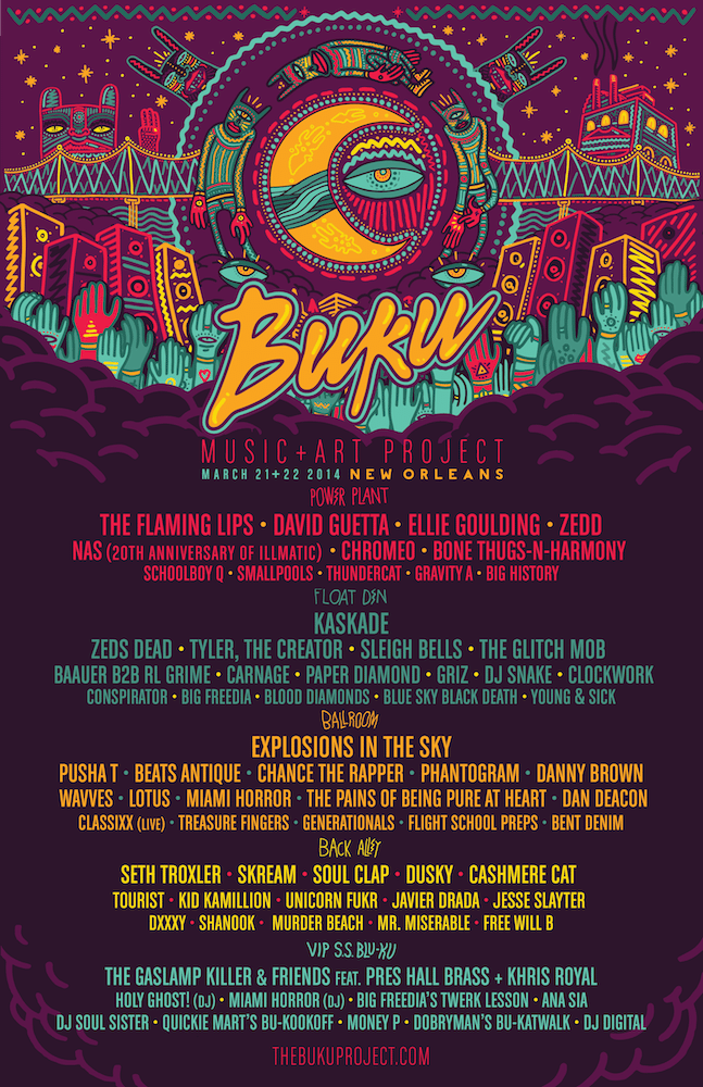 The Festival Guy Is Heading To Buku Music Festival Wizard