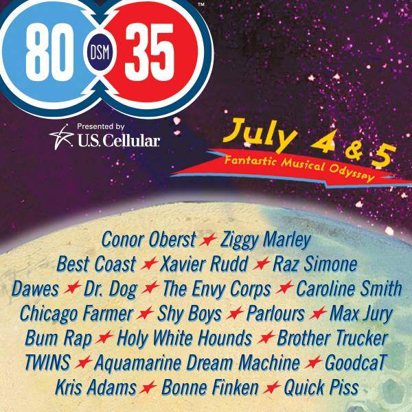 80/35 Festival First Round 2014 Lineup: Conor Oberst, Ziggy Marley, Best Coast