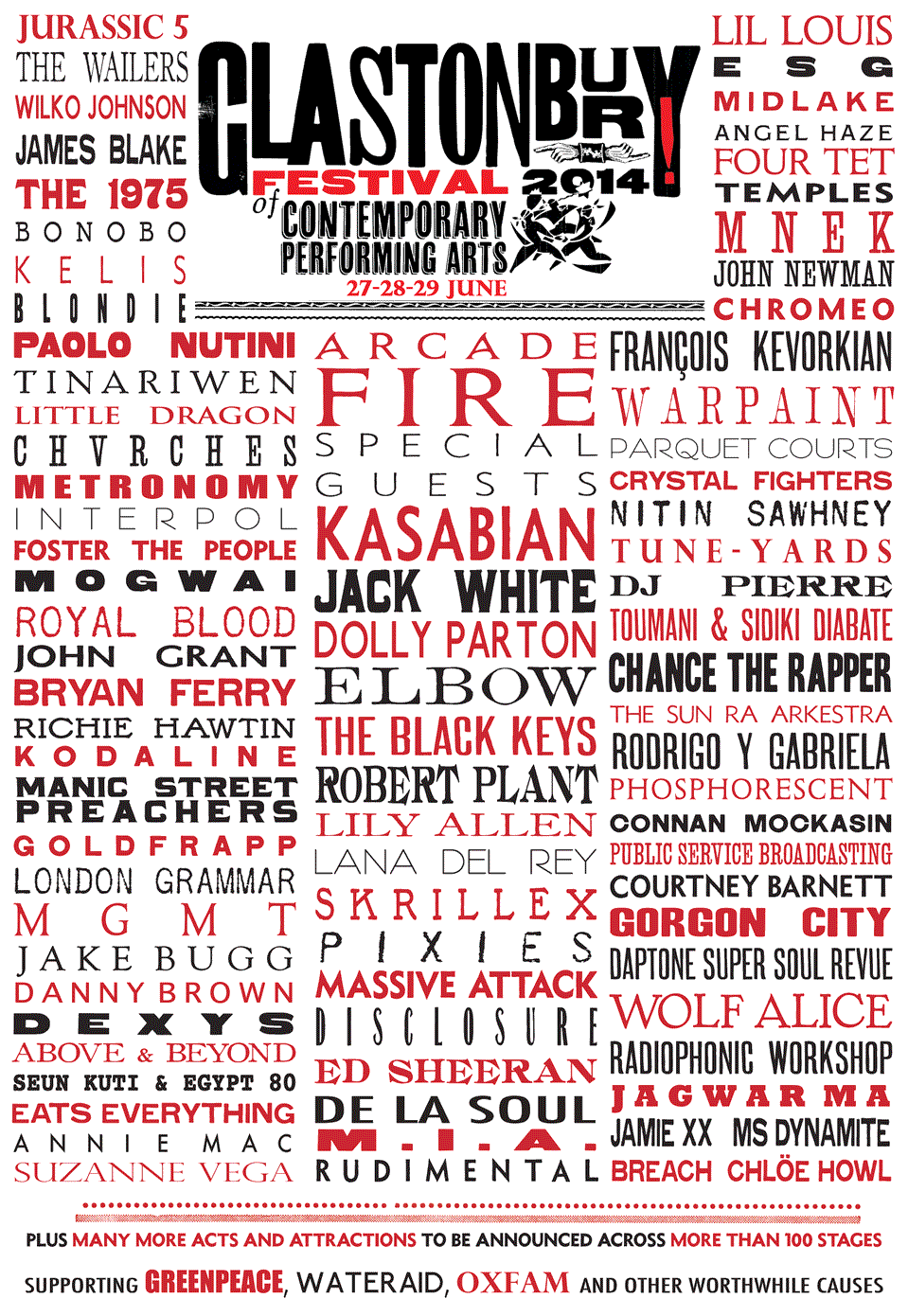 Who's Coming to the Farm? Glastonbury 2014 Lineup!