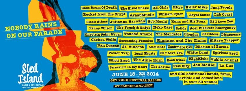 Sled Island 2014 Completes Lineup