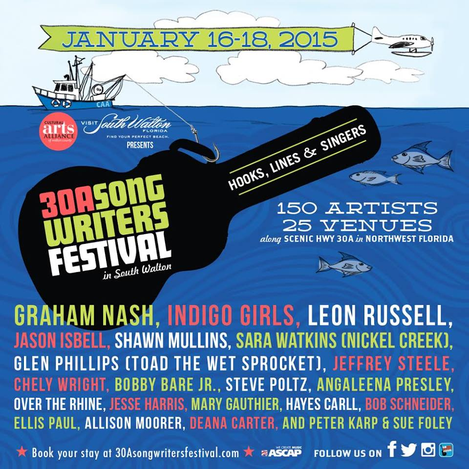 30A Songwriters Festival 2015 Festival Poster