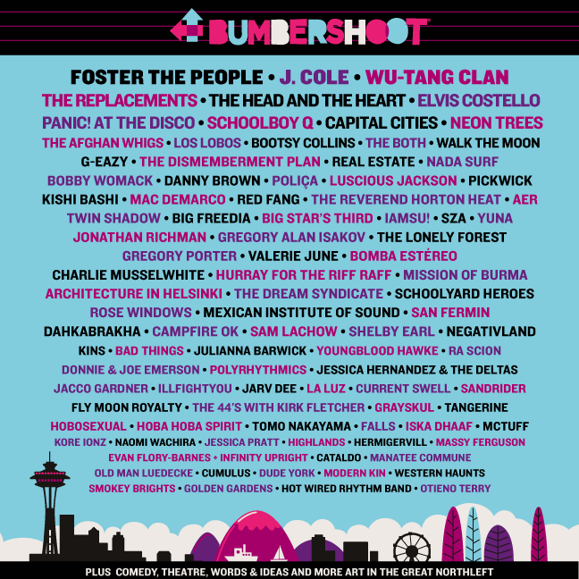 Bumbershoot 2014 Lineup: 100+ Acts Announced, Poster and Video