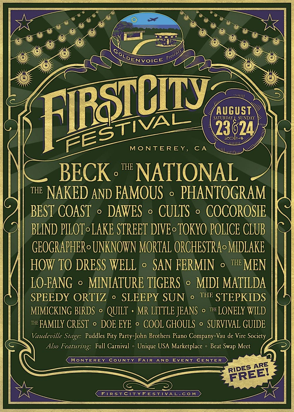 FirstCityFestival2014Poster