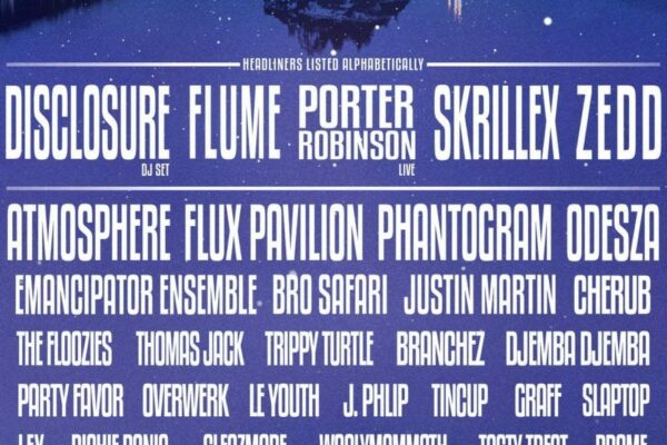 SnowGlobe Music Festival Lineup Poster 2014