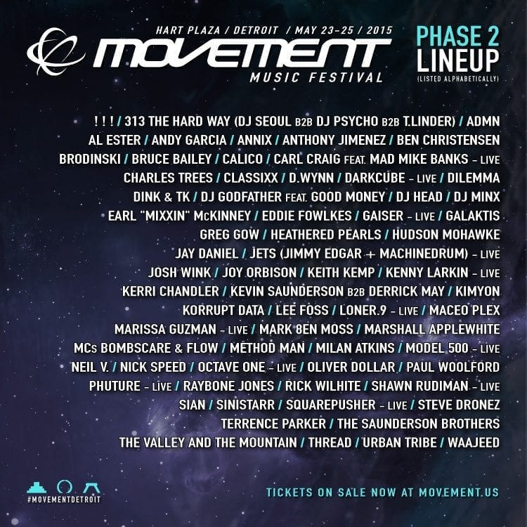 Movement 2015 Festival Poster