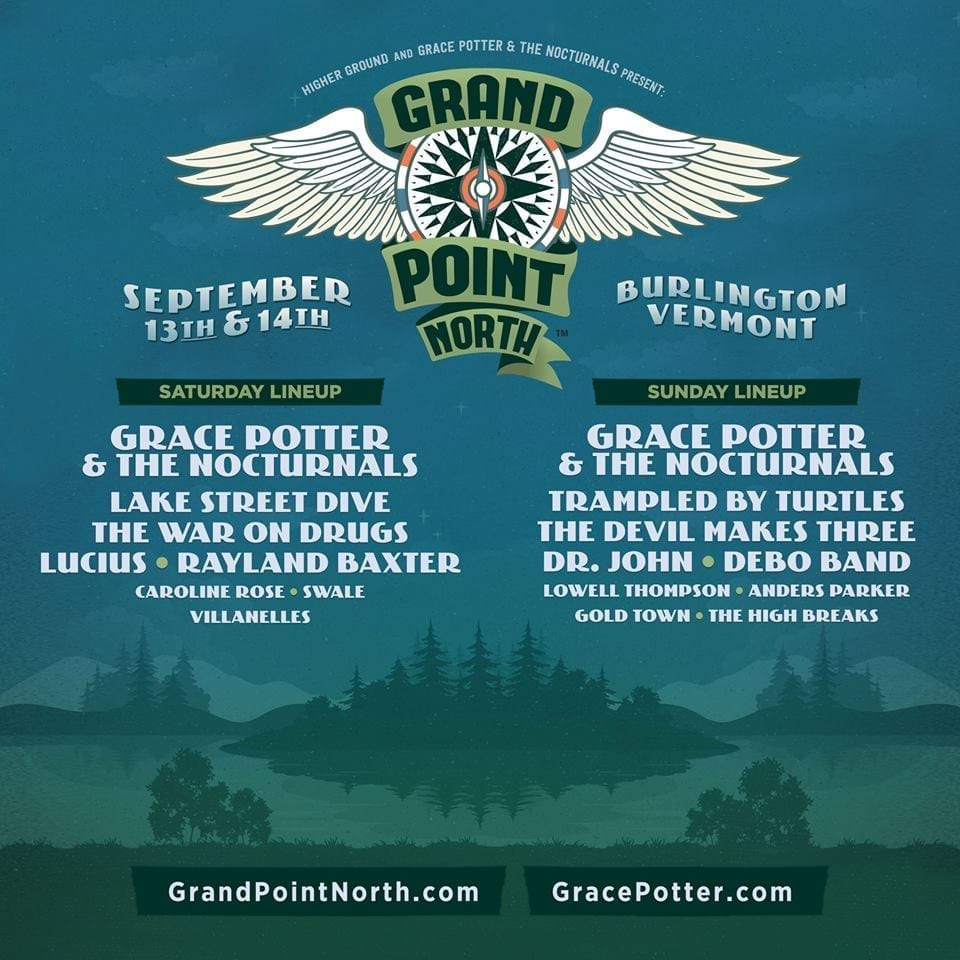 Grand Point North 2014 Festival Poster