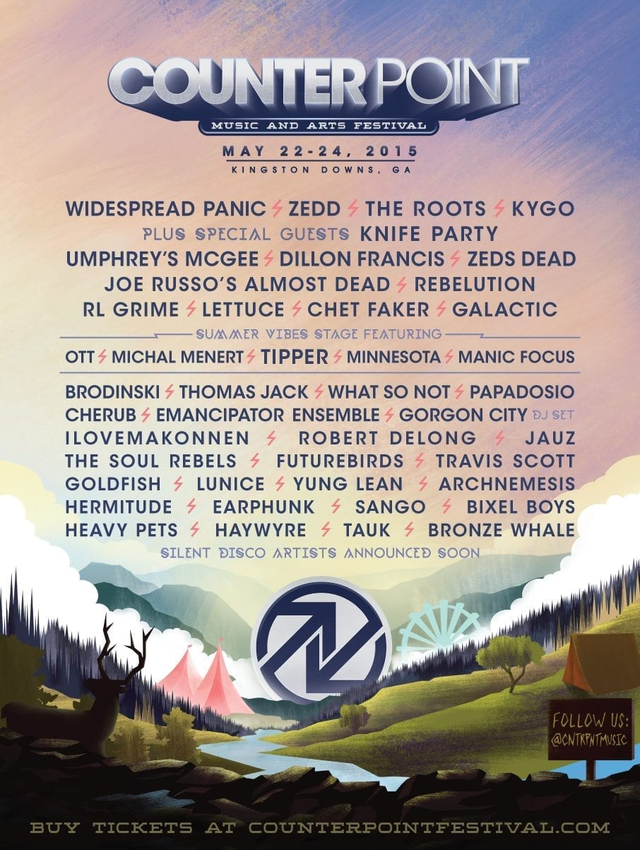 CounterPoint Music Festival 2015 Festival Poster
