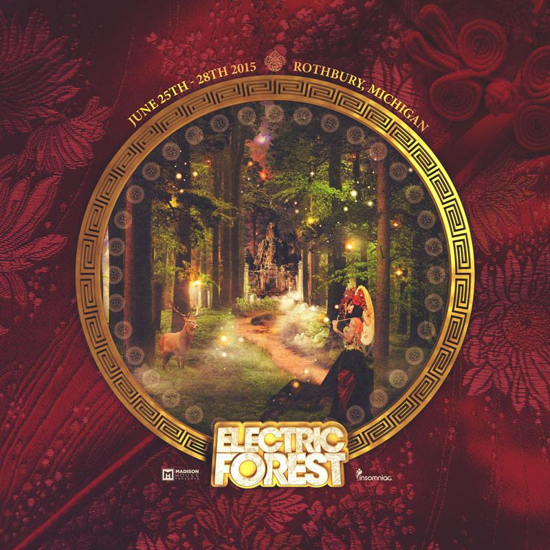 Electric Forest Permits Renewed, 2015 Dates are Set