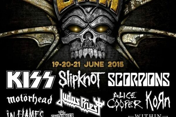 Graspop Metal Meeting Lineup Poster 2015