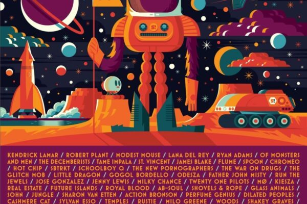 Sasquatch Music Festival 2015 Lineup Poster