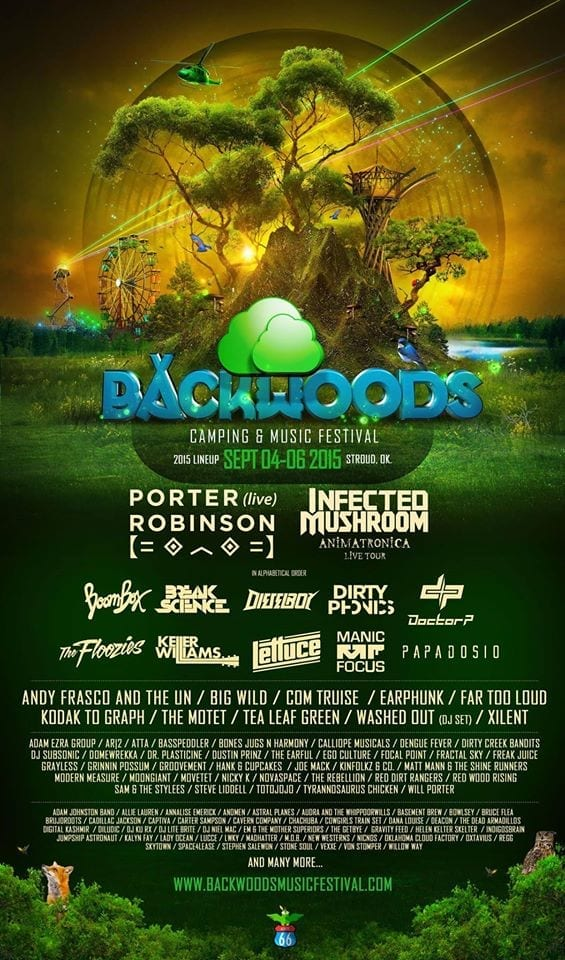 Contest Win Free Tickets To Backwoods Camping Amp Music