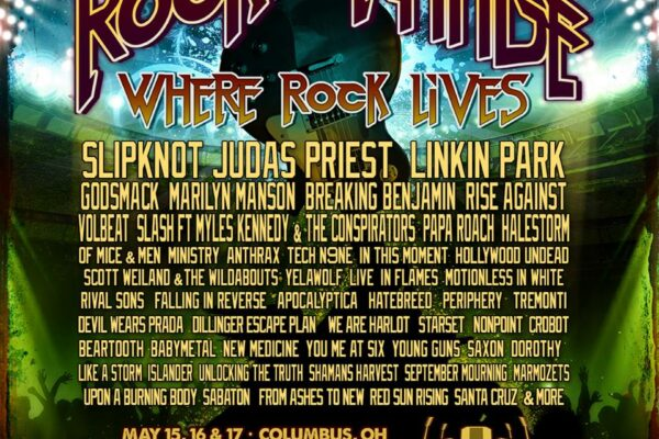 Rock on the Range 2015 Lineup Poster