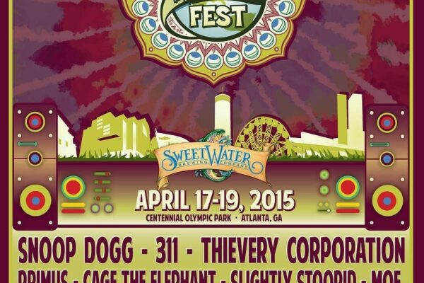 Sweetwater 420 Festival 2015 Lineup Poster Headliners