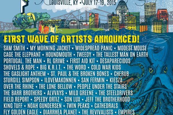 Forecastle Festival 2015 Lineup Poster