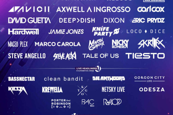 Ultra Miami 2015 Lineup Poster