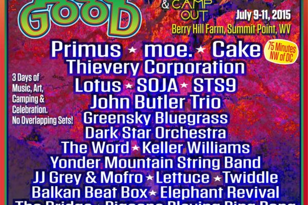 All Good 2015 Poster