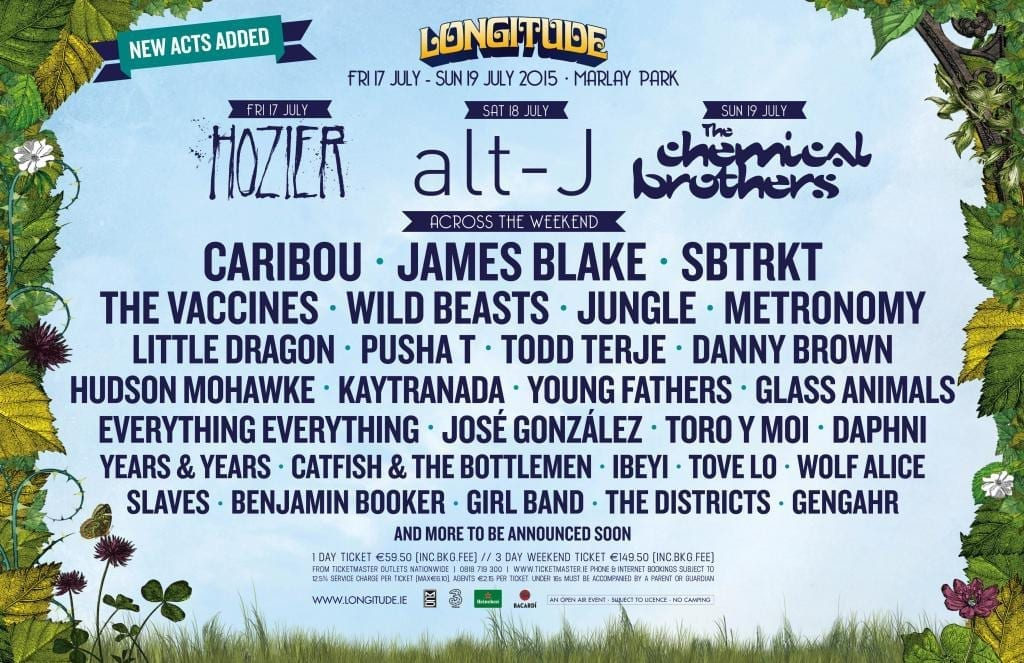 17 More Acts Added To Longitude 2015 James Blake The