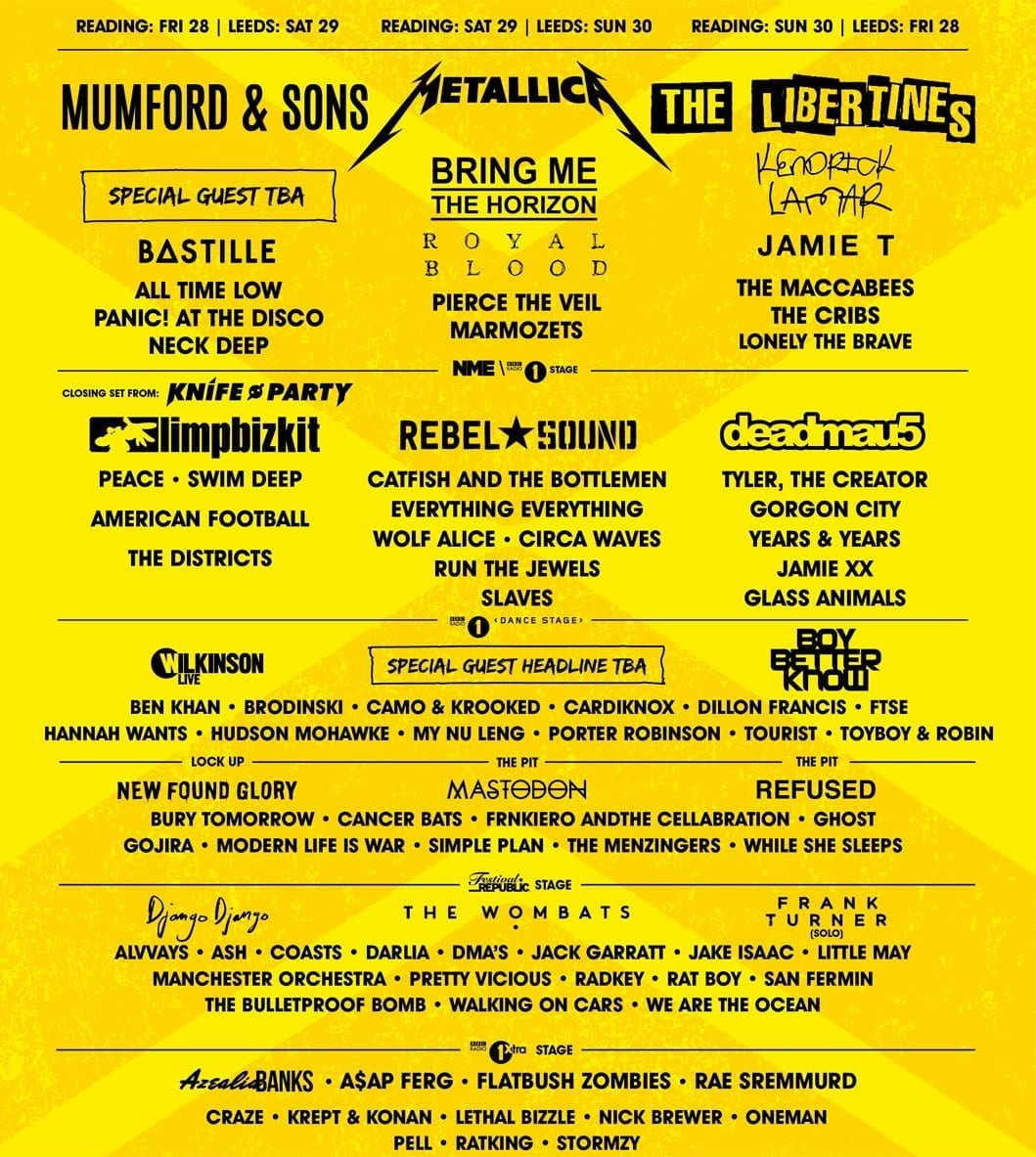 Reading and Leeds Festival Add 70+ More Artists to the Lineup