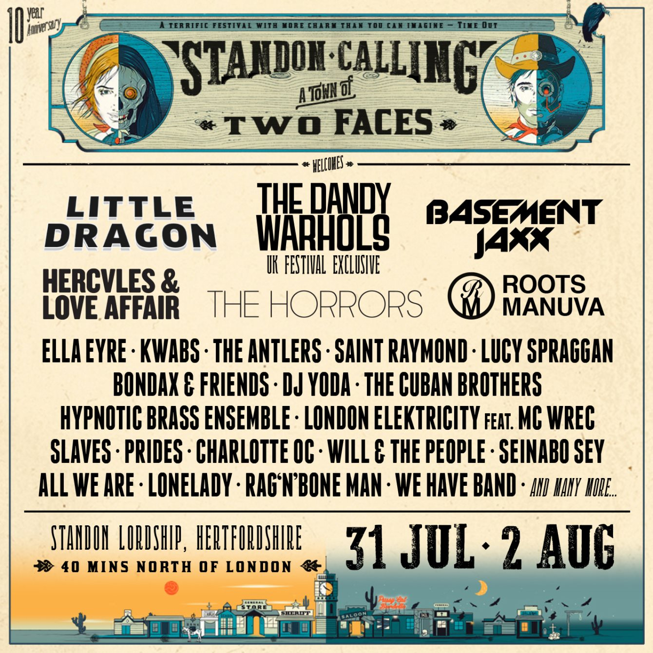 Standon Calling 2015 Festival Poster