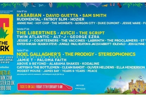 T in the Park 2015 Lineup