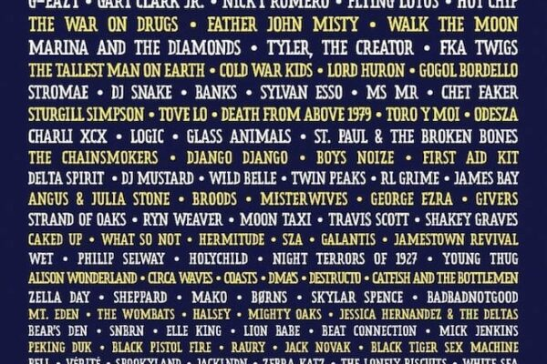 Lollapalooza 2015 Lineup Poster