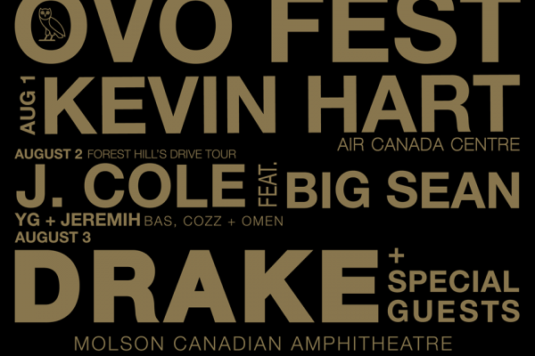 OVO Fest 2015 Lineup Poster