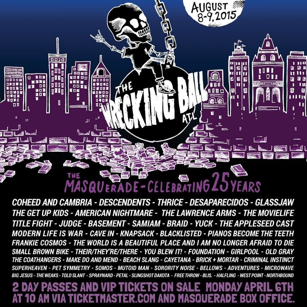 The Wrecking Ball 2015 Poster