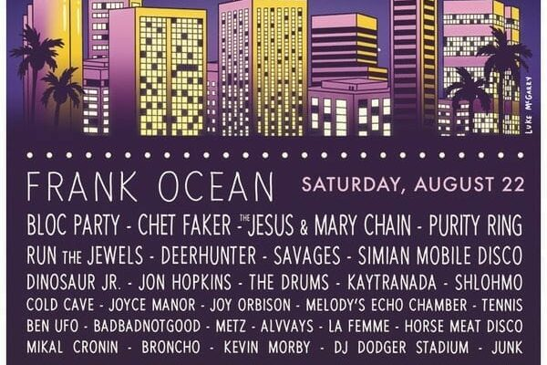 FYF Fest 2015 Lineup Poster