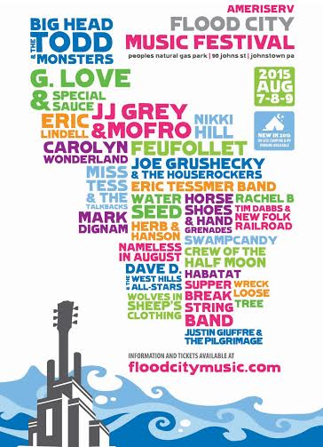 Flood City Festival 2015 Festival Poster