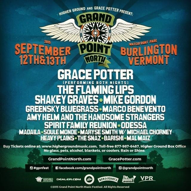 Grand Point North 2015 Festival Poster