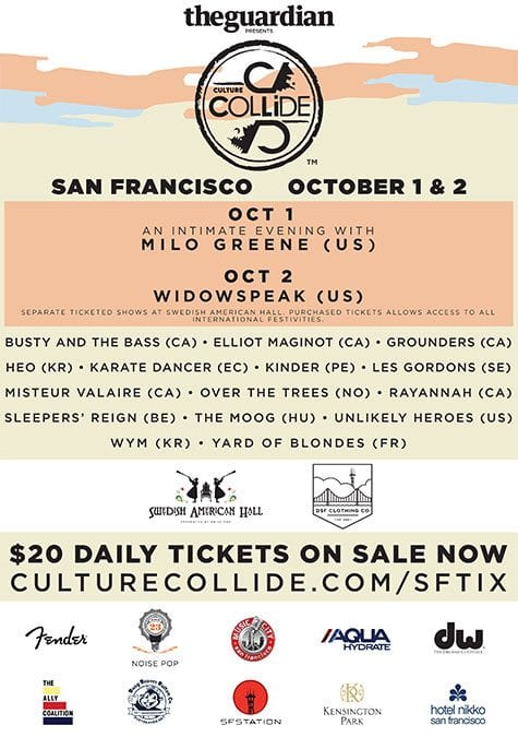 Culture Collide San Francisco 2015 Festival Poster