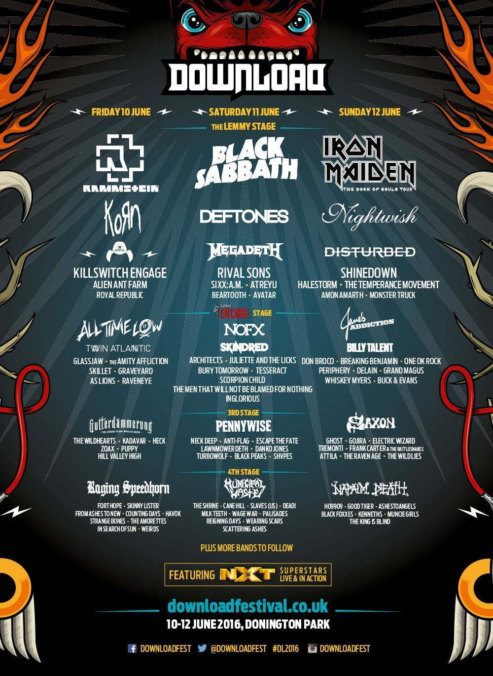 Download Festival 2016 Festival Poster