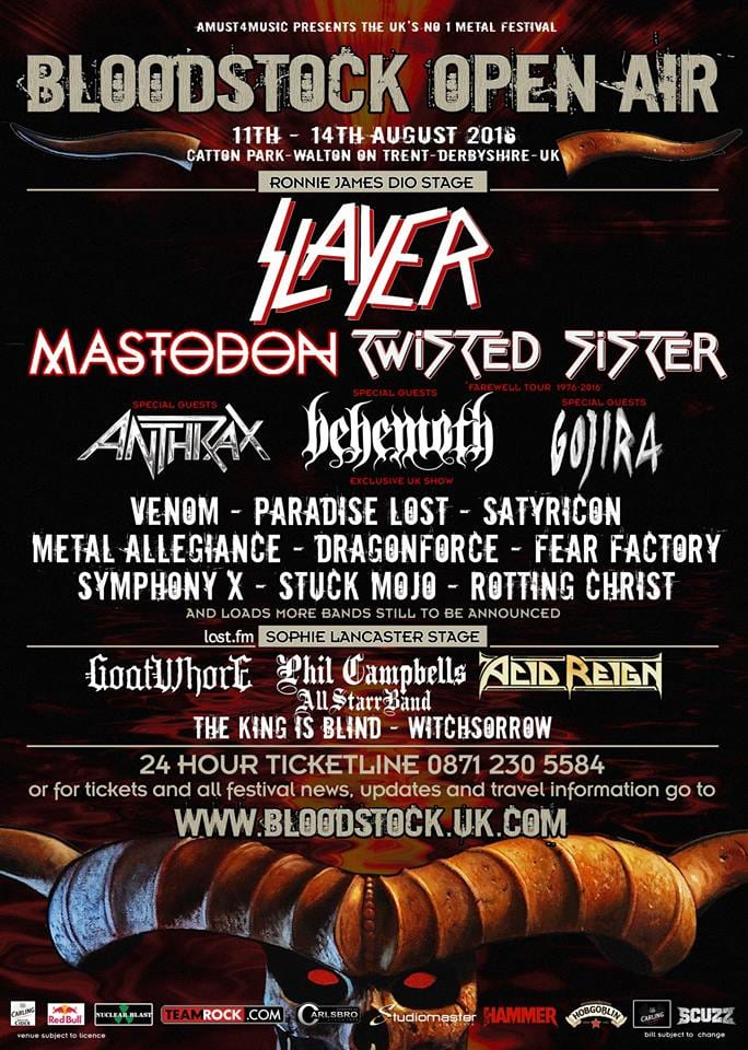 Bloodstock 2016 The Mfw Music Festival Guide