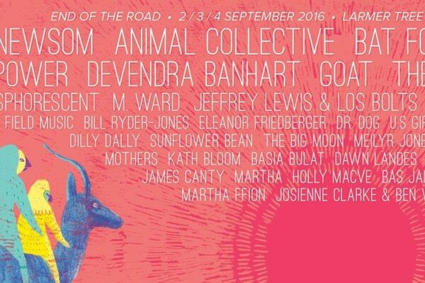 End of the Road Festival 2016 Lineup Poster