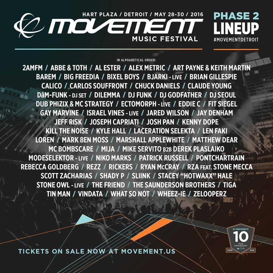 Movement 2016 Festival Poster