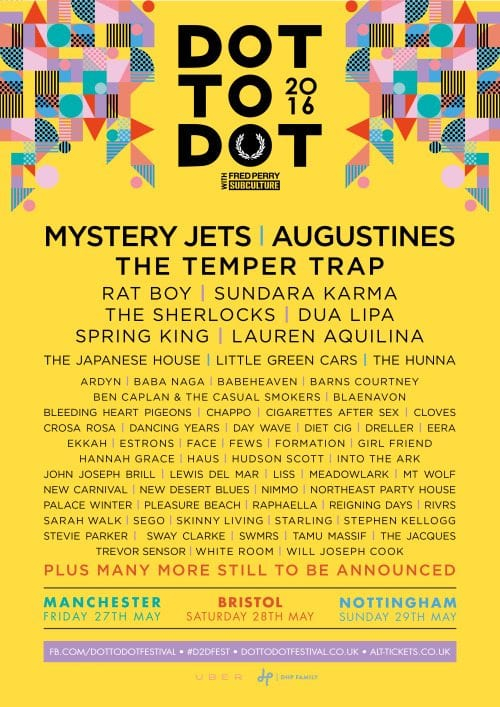 Dot to Dot UK  2016 Festival Poster