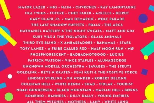 Wayhome Music Festival 2016 Lineup Poster