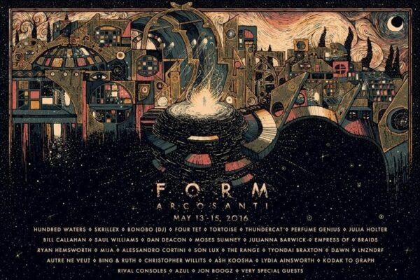 FORM Festival 2016 Lineup Poster