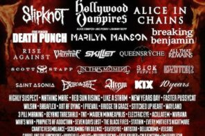 Rock Fest 2016 Ready to Melt Your Face Off: Alice in Chains, Hollywood Vampires, Slipknot